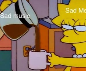 sad, mood, and music image