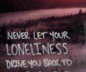 sad, loneliness, and lonely image