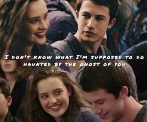 couple, lyrcis, and thirteen reasons why image