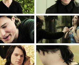 vampire academy, zoey deutch, and dimitri and rose image