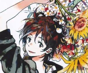 anime, sunflower, and kii kanna image