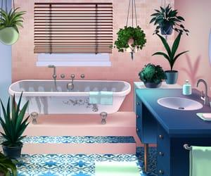 bathroom, room, and otome games image