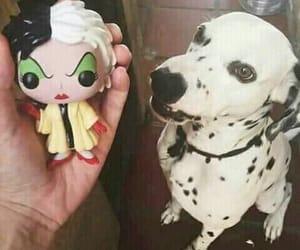 101 dalmatians, disney, and memes image