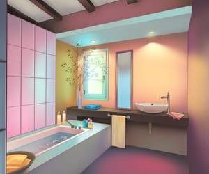 room, bathroom, and otome games image