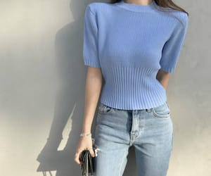 blue, clothes, and fashion image