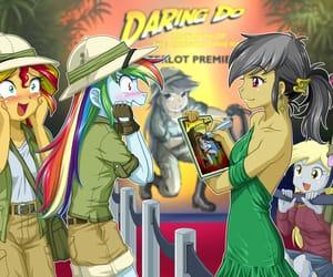 anime, deviantart, and my little pony image