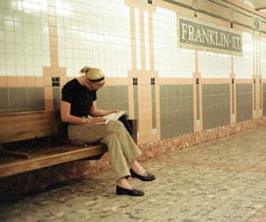 nyc, style, and carolyn bessette-kennedy image