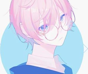 anime, glasses, and cool image