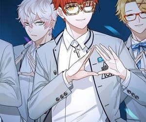 anime, saeyoung choi, and 707 (mm) image