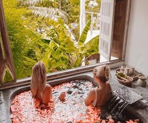 bath, summer, and thailand image