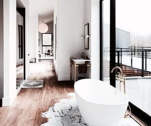 home, bathroom, and bath image