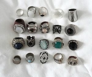 rings, grunge, and hipster image