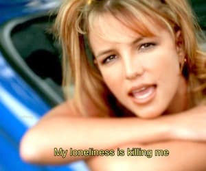 britney spears, iconic, and song image