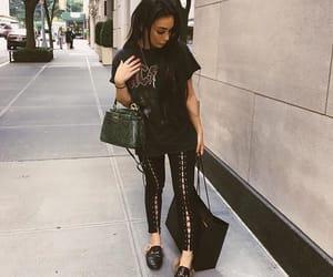 beauty, black, and fashion image