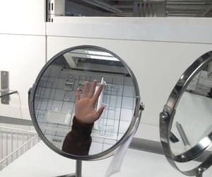 hand, mirror, and photography image