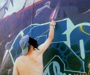 artist, fun, and graffiti image