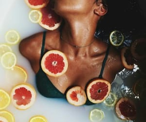 fruit, bath, and melanin image