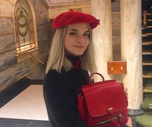 beret, fashion girl, and french fashion image