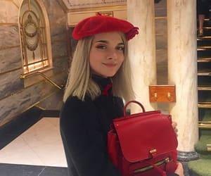 beret, fashion girl, and french fashion image