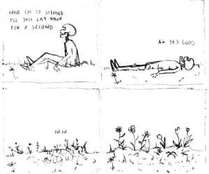 art, illustration, and die image