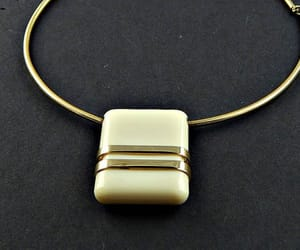 chunky, retro jewelry, and signed jewelry image