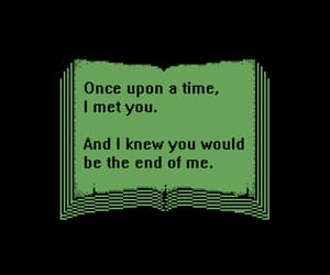 quotes, book, and green image