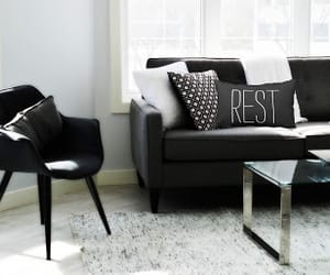 decor, home, and pillows image