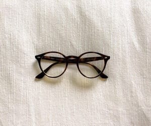 glasses, white, and vintage image