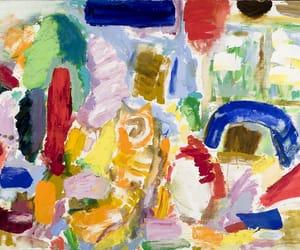 abstract art, taro yamamoto, and new york school image