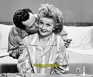 desi arnaz, gif, and Lucille Ball image