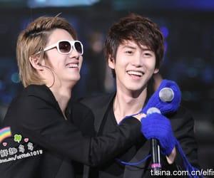 kim heechul, kyuhyun, and SJ image