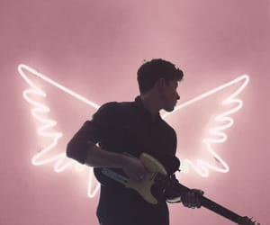 shawn mendes, angel, and wallpaper image