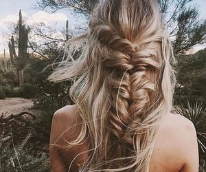 braid, fishtail, and gorgeous image