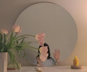 aesthetic, mirror, and room image