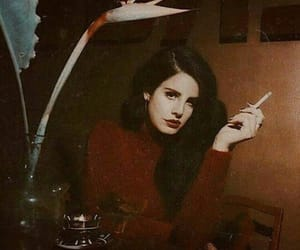 lana del rey, music, and red image