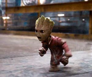 gif, groot, and gotg image