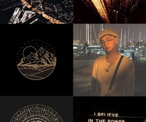 aesthetic, Collage, and dark image