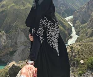 allah, couple, and dress image