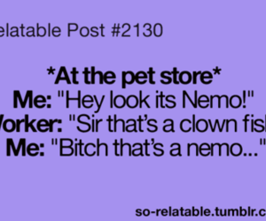 bitch, funny, and nemo image