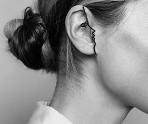 accessories, bun, and hairstyle image