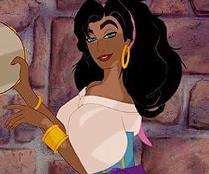 disney, esmeralda, and gif image