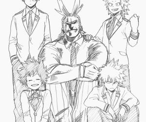 manga, boku no hero academia, and my hero academia image
