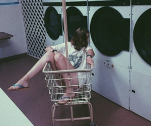 cart, chill, and laundry image