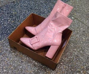baby pink, inspo, and boots image