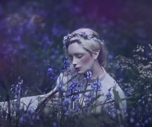 fairy, fantasy, and flowers image