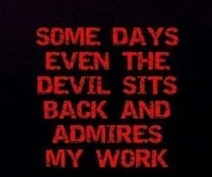 Devil, quotes, and evil image