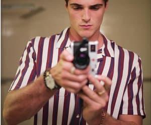 boys, camera, and mirror image
