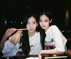 blackpink, jennie, and jisoo image