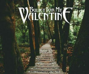 bullet for my valentine, rock, and wallpapers image