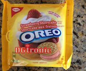 article, Cookies, and strawberry shortcake oreo image